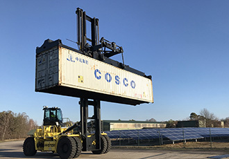 Progress for electric container handlers